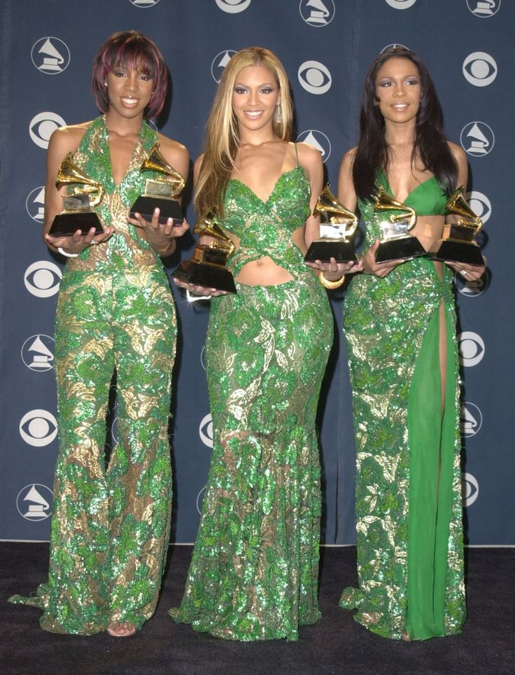 Destiny's Child at the Grammys in 2001