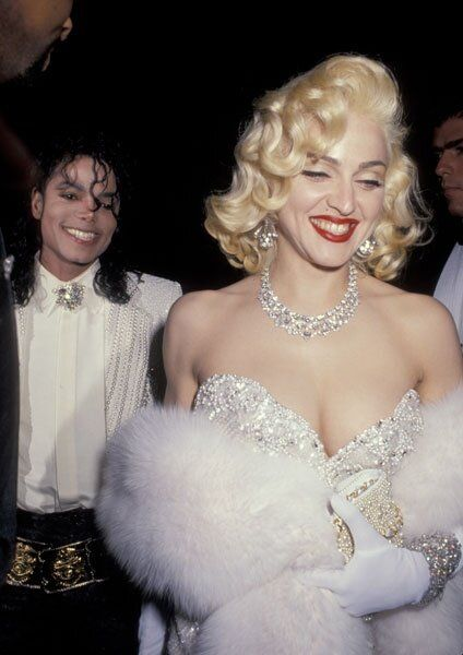 Madonna and MJ in the 80s