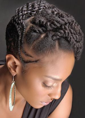 Natural-Hairstyles-For-Short-Hair-Black-Women